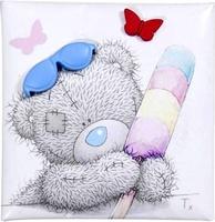 Магнит MTY Tatty N Lolly - мишка в очках и с мороженным