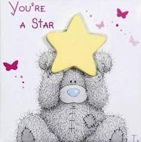 Магнит MTY You Re Star - мишка со звездочкой