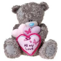 Мишка MTY 71 см. держит сердца
