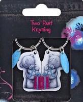"""Брелок MTY для ключей двойной """"Подарок"""""""